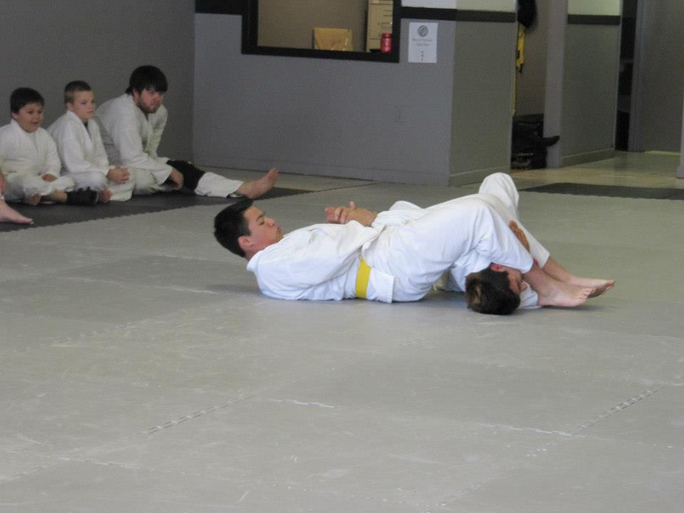 Students Demonstrating Martial Arts
